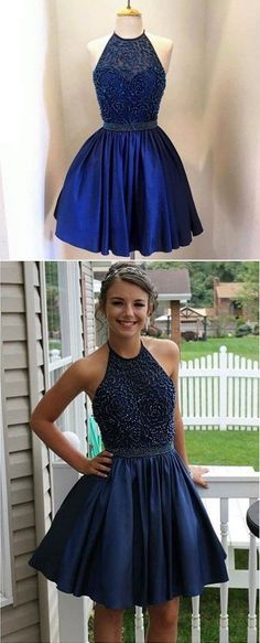 Cute homecoming dresses,beaded top and taffeta skirt,short prom dresses,graduation 8 dresses,hoco dresses
