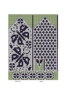 Носки, тапочки, варежки | Записи в рубрике Носки, тапочки, варежки | Дневник И-нулька : LiveInternet - Российский Сервис Онлайн-Дневников Knitted Mittens Pattern, Knit Mittens, Mitten Gloves, Knitted Hats, Knitting Charts, Lace Knitting, Knitting Socks, Knitting Patterns, Crochet Chart
