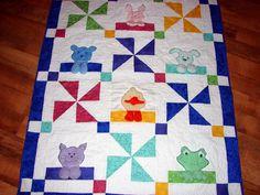 Animal quilt so cute