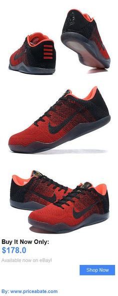 info for 86fde 3cf9f Basketball  Nike Kobe Xi Elite Low Mens Basketball Shoe (Red Black) BUY