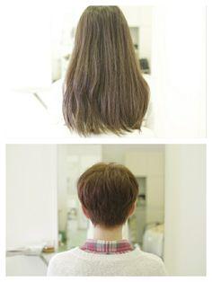 Long To Short Hair, Short Hair Styles, Shaved Hair Cuts, Shaving, Change, Beauty, Bob Styles, Short Hair Cuts, Short Hairstyles