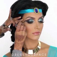 Princess Jasmine by  @dressyourface & @angel_hus_jaan  . . .  #vegas_nay #ulta #sephora #fashion #stylist #ootd #ring #glitter #unicorn #pink #igartist #colors #sunset #fall #mua #artist #maccosmetics#halloweenmakeup #holographic #halloween#hudabeauty #makeuptutorial #sephora #ulta #beauty #makeup #ootd#anastasiabeverlyhills#makeup#dressyourface