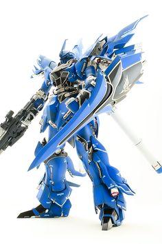 love the blue MG-Sinanju again
