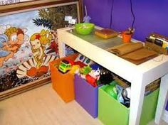 A Empregada Doméstica: Como guardar e organizar brinquedos