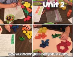 Differentiated Math Instruction, Assessments, and A HUGE Giveaway including an iPad Mini! Color Songs, Block Center, Kindergarten Centers, Bar Graphs, Differentiation, Pattern Blocks, Math Activities, Maths, Sorting