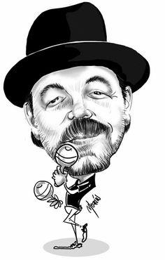El poeta de la Salsa. Salsa Musica, Cartoon Posters, Cartoon Characters, Caricature From Photo, Latino Art, Joker Heath, Afro Cuban, Celebrity Caricatures, Latin Music