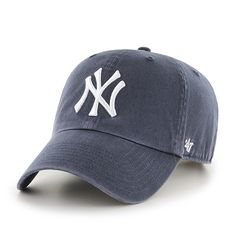 New York Yankees 47 Brand Vintage Clean Up Adjustable Hat - Low Prices & Quick Shipping at Detroit Game Gear
