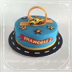 Hot Wheels Cake #hotwheelscake Hot Wheels Cake, Motorbike Cake, Cupcake Cakes, Cupcakes, Birthday Parties, Birthday Cake, Cakes For Boys, Cake Ideas, Monster Trucks