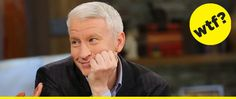 Anderson Cooper Owns One Pair Of Jeans That He Washes