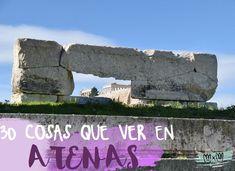 30 COSAS QUE VER Y HACER EN ATENAS Santorini, Budapest, Stuff To Do, Things To Do, Greece Hotels, Paros, Greece Travel, Viera, Plan Your Trip