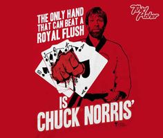 Chuck norris gambling casino cufflinks stud sets