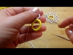 YouTube Tatting Earrings, Tatting Jewelry, Macrame Jewelry, Needle Tatting, Tatting Lace, Creative Embroidery, Doilies, Washer Necklace, Pendant Necklace
