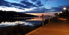 Tamar River & Board walk