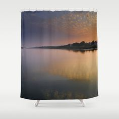 Algarve sunset. Shower Curtain by Guido Montañés - $68.00