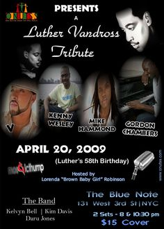 Luther Tribute at The Blue Note