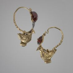 Hellenistic Earrings , 3rd century BC