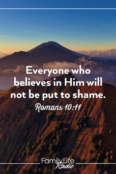 I believe!  Thank you Lord Jesus Christ.  Please steer me away from anything that is not pleasing in Your sight.  Amen.