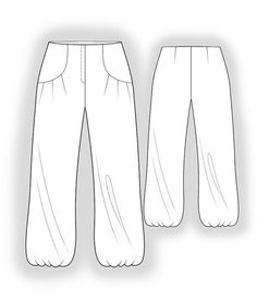 (9) Name: 'Sewing : Pants Sewing Pattern 4050