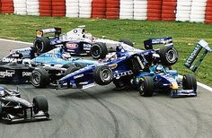 formula 1 crash latest