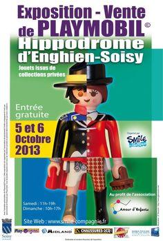Exposition - Vente de Playmobil, Soisy-sous-Montmorency, Ile-de-France