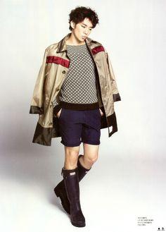 Junho – L'Officiel Hommes Magazine July Issue Lee Junho, Taecyeon, South Korean Boy Band, Boy Bands, Military Jacket, Punk, Singer, Actors, 2pm Kpop
