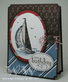Stampin' Up! - Sail Away