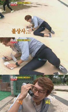 [SPOILER: Running Man] Lee Kwang Soo goes through an embarrassing moment