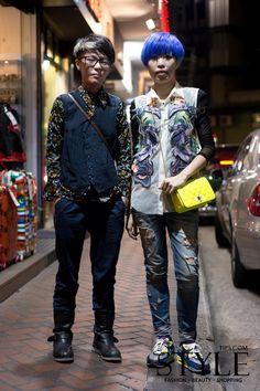 Hong Kong Street Fashion,#Snapshot, #STYLE-TIPS.COM