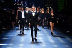 The Millennials walk for Dolce&Gabbana Fall/Winter 2017/18 Men's Fashion Show. #DGPrinces #DGfw18 #mfw #DGMillennials #realpeople