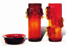 Jerzy Słuczan - Orkusz Mid Century Design, Poland, Glass Art, Candle Holders, Art Deco, Candlesticks, Jar Art, Ignition Coil, Candelabra