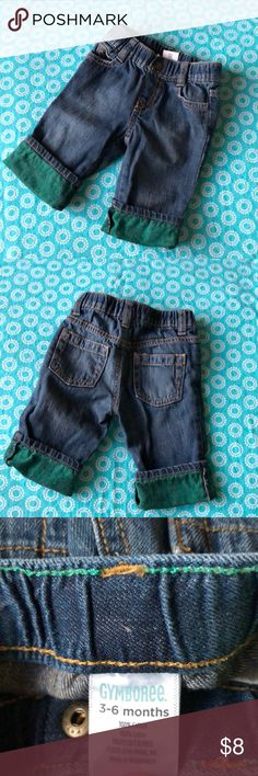 Gymboree blue jeans Handsome pants for the special little guy in your life. These are in excellent condition! No stains and no signs of wear! Size: 3-6 months Gymboree Bottoms Jeans