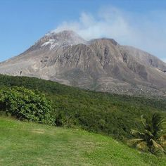 This is the beautiful Soufrière Hills Volcano, located on the Island of Montserrat. Beautiful, but deadly. The Soufrière Hills volcano is a very active, very complex stratovolcano. It began erupting in 1995 afte  r a long period of slumber, and since waking it's erupted continuously.