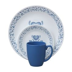 <h2>Description</h2>Corelle Livingware™... The original break and chip resistant glass dinnerwar...