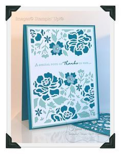 KOCreations Stampin' Up! Blog: A Special Note of THANKS To You - Using 'Floral Phrases Bundle'