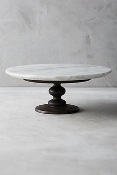 Marblewood Cake Stand #anthropologie