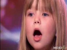 """Jul 20, 2007 This little girl , Connie from England, WOWs Simon with her singing abilities. She sang """"Somewhere Over The Rainbow"""" from the Wizard of Oz.  pitch perfect"""