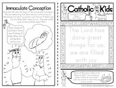 The Catholic Toolbox: FREE Children's Worship Bulletins and/or Mass Worksheets
