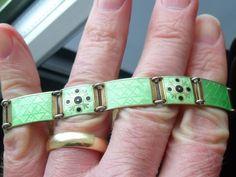 Berard Meldaht Love Bracelets, Cartier Love Bracelet, Bangles, Enamel Jewelry, Silver Jewelry, Scandinavian, Vintage, Fashion, Bracelets