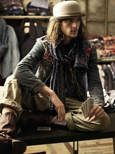 Gypsy boy, :) Ahh and this would be Castian (my gypsy prince).