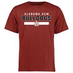 Alabama A&M Bulldogs Crimson Team Strong T-Shirt