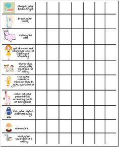 Behavior Chart copy