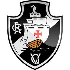 Escudos dos times cariocas de futebol.