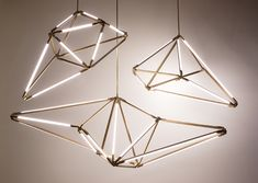 Bec Brittain's modular LED light project SKY Light. SHY 01, SHY 02, SHY 04. A personal inspiration.