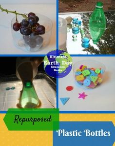Giving new life to empty plastic bottles #earthday #recycle
