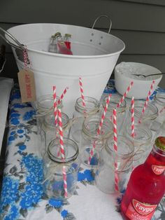 For a backyard party