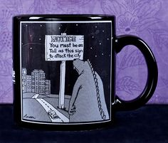 "Gary Larson's Far Side  ""Notice"" Coffee Mug  1985"