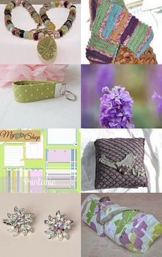 My yoga mat bag is featured here - I Can Smell Spring, Can You? - (6) by Laura Bair on Etsy--Pinned with TreasuryPin.com