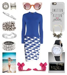 """""""Tasmanian Yacht Party"""" by creation-gallery ❤ liked on Polyvore featuring Philippe Audibert, Platinum Heart, Yves Saint Laurent, Thomas Earnshaw, Casetify, Rumour London, Fendi, women's clothing, women and female"""