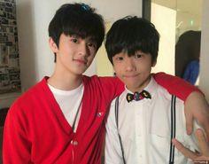 Mark and Jisung