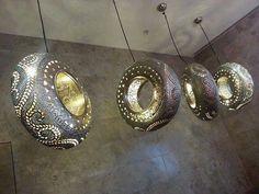 Vecchi #pneumatici diventano preziosi lampadari #Riciclo Creativo #EcoArte #EcoDesign  SEGUICI SU: www.facebook.com/CreoEco www.pinterest.com/CreoEco
